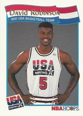 1991 NBAHoops #59 David Robinson - Standard