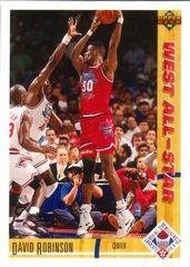 1991 Upper Deck #58 David Robinson - Standard
