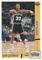1991 Upper Deck SPURS #374 David Greenwood - Standard