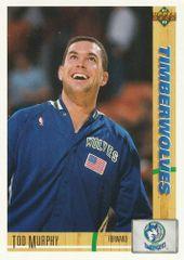 1991 Upper Deck Timberwolves #377 Tod Murphy - Standard