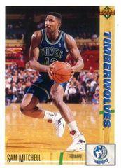 1991 Upper Deck Timberwolves #309 Sam Mitchell - Standard