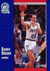 1991 FLEER #317 Randy Breuer - Standard
