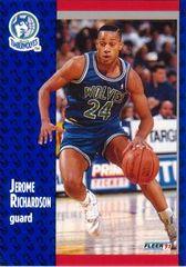 "1991 FLEER #125 Jerome ""Pooh"" Richardson - Standard"