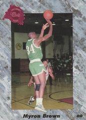 1991 Classic #172 Myron Brown - Standard