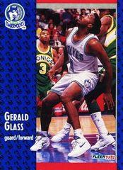 1991 FLEER #319 Gerald Glass - Standard