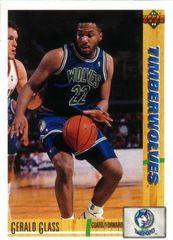 1991 Upper Deck Timberwolves #307 Gerald Glass - Standard