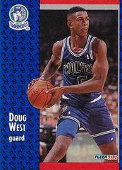 1991 FLEER #321 Doug West - Standard