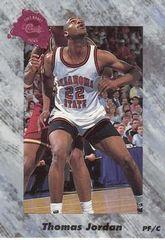 1991 Classic #197 Thomas Jordan - Standard