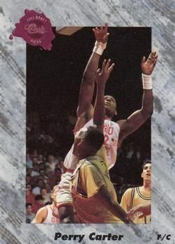 1991 Classic #211 Perry Carter - Standard