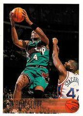 1996 Topps #37 Byron Scott - Standard