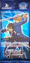 "Weiss Schwarz English Pack ""Sword Art Online -Alicization-"" by Bushiroad"