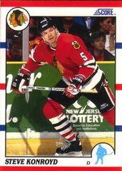 1990 Score American #29 Steve Konroyd - Standard
