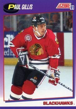 1991 Score American #364 Paul Gillis - Standard