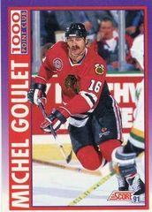 1991 Score American #375 Michel Goulet - Standard