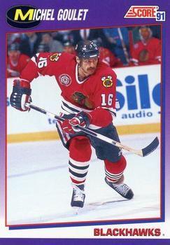 1991 Score American #201 Michel Goulet - Standard