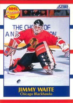 1990 Score American #407 Jimmy Waite - Standard
