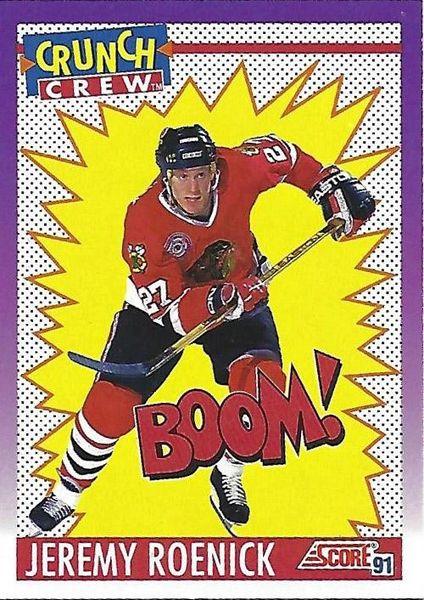 1991 Score American #305 Jeremy Roenick - Standard