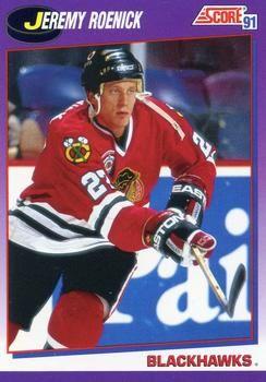 1991 Score American #220 Jeremy Roenick - Standard