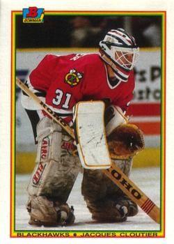 1990 Bowman #11 Jacques Cloutier - Standard