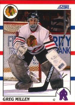 1990 Score American #42 Greg Millen - Standard