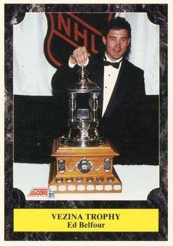 1991 Score American #431 Ed Belfour - Standard