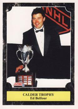 1991 Score American #430 Ed Belfour - Standard