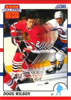 1990 Score American #320 Doug Wilson - Standard