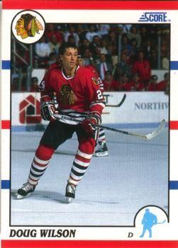 1990 Score American #280 Doug Wilson - Standard