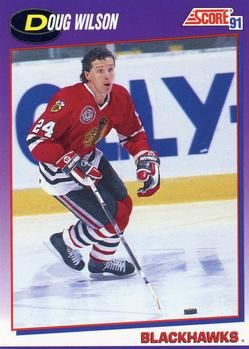 1991 Score American #35 Doug Wilson - Standard