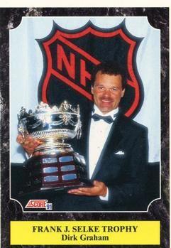 1991 Score American #432 Dirk Graham - Standard