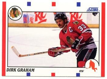1990 Score American #17 Dirk Graham - Standard