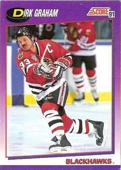 1991 Score American #15 Dirk Graham - Standard