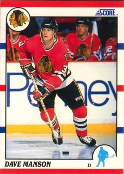 1990 Score American #193 Dave Manson - Standard