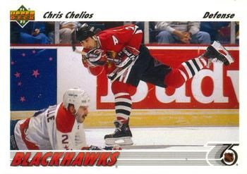 1991 Upper Deck #354 Chris Chelios - Standard