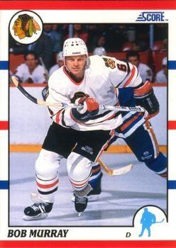 1990 Score American #376 Bob Murray - Standard