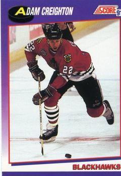 1991 Score American #265 Adam Creighton - Standard