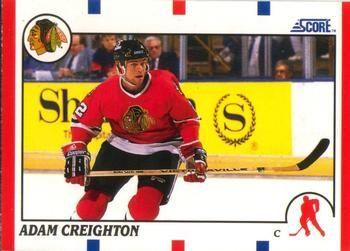 1990 Score American #82 Adam Creighton - Standard