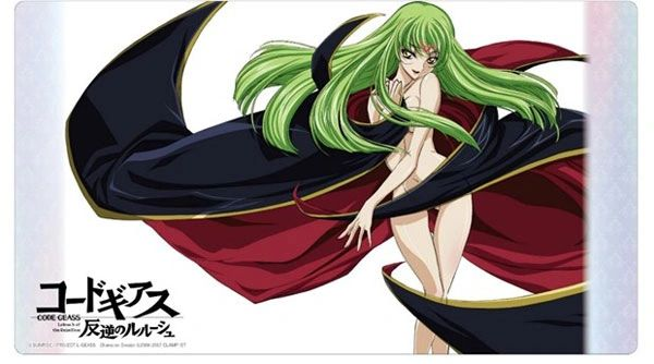 """Universal Mat Collection Vol.53 """"Code Geass Lelouch of the Rebellion (C.C.)"""" by Klockworx"""