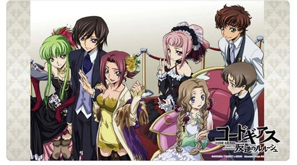 """Universal Mat Collection Vol.53 """"Code Geass Lelouch of the Rebellion (Group)"""" by Klockworx"""