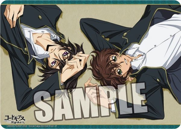 """Character Universal Rubber Mat """"Code Geass Lelouch of the Rebellion (Lelouch & Suzaku) Ver.2"""" by Broccoli"""