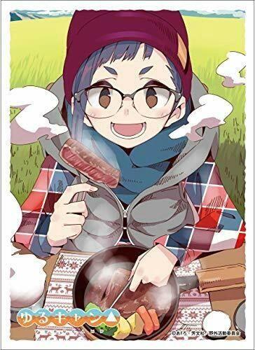 "Character Sleeve ""Yuru Camp: Laid-Back Camp (Ogaki Chiaki)(C)"" EN-911 by Ensky"
