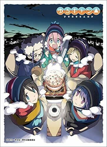 "Character Sleeve ""Yuru Camp: Laid-Back Camp (K)"" EN-914 by Ensky"