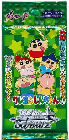 "Weiss Schwarz Japanese Pack ""Crayon Shin-Chan"" by Bushiroad"