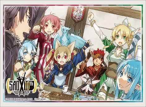 "Sleeve Collection HG ""Dengeki Bunko: Sword Art Online (Early and Late Group Illustration) Part.2"" Vol.2397 by Bushiroad"