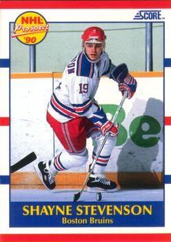 1990 Score American #405 Shayne Stevenson - Standard