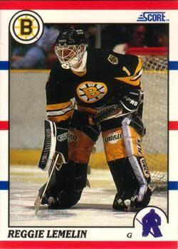 1990 Score American #159 Reggie Lemelin - Standard