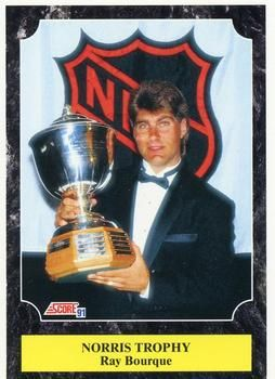 1991 Score American #429 Ray Bourque - Standard