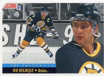 1991 Score American #415 Ray Bourque - Standard
