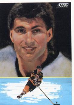 1991 Score American #344 Ray Bourque - Standard