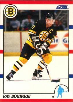1990 Score American #200 Ray Bourque - Standard